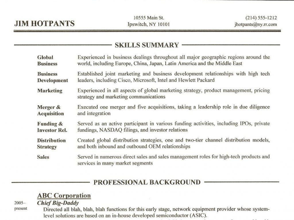 Neoteric Design Skills Section On Resume 5 Skills Section Resume ...