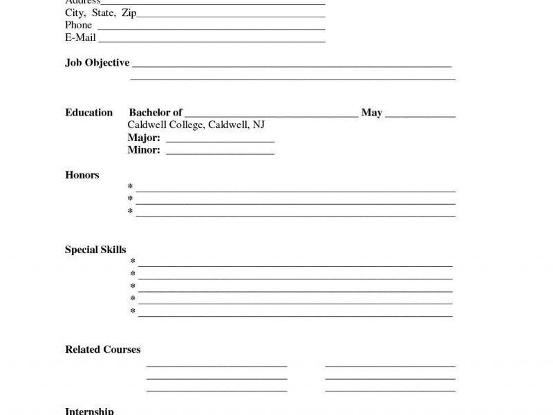 Free Resume Printable Templates - Resume CV Cover Letter