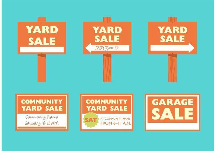 Garage Sale Free Vector Art - (3669 Free Downloads)