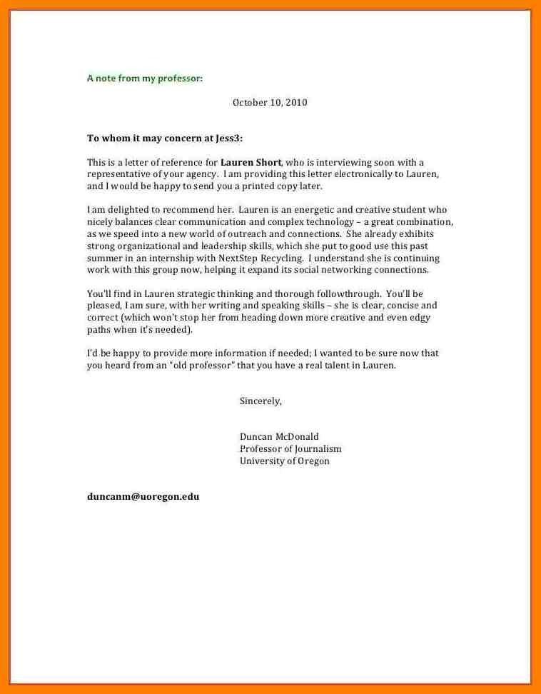 To Whomever It May Concern Letter Format Sample - Best Template ...