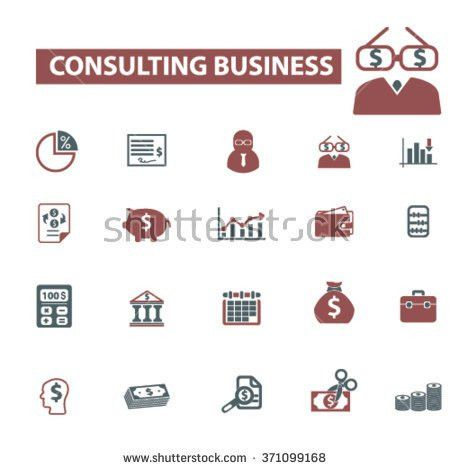 Consulting Business Financial Consultant Accounting Agency Stock ...