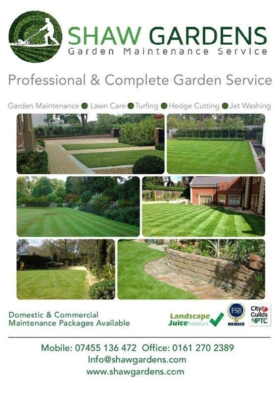 Commercial Domestic Garden Maintenance Services In Bedford Pamela ...