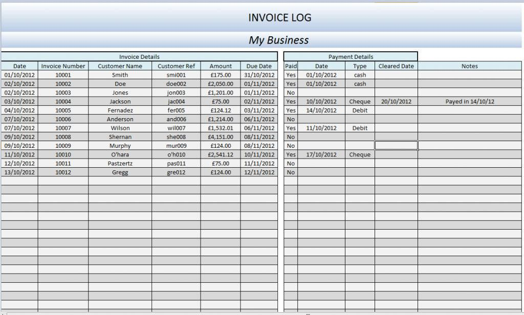 Accounting Excel Program Small Business Accounting Spreadsheet ...