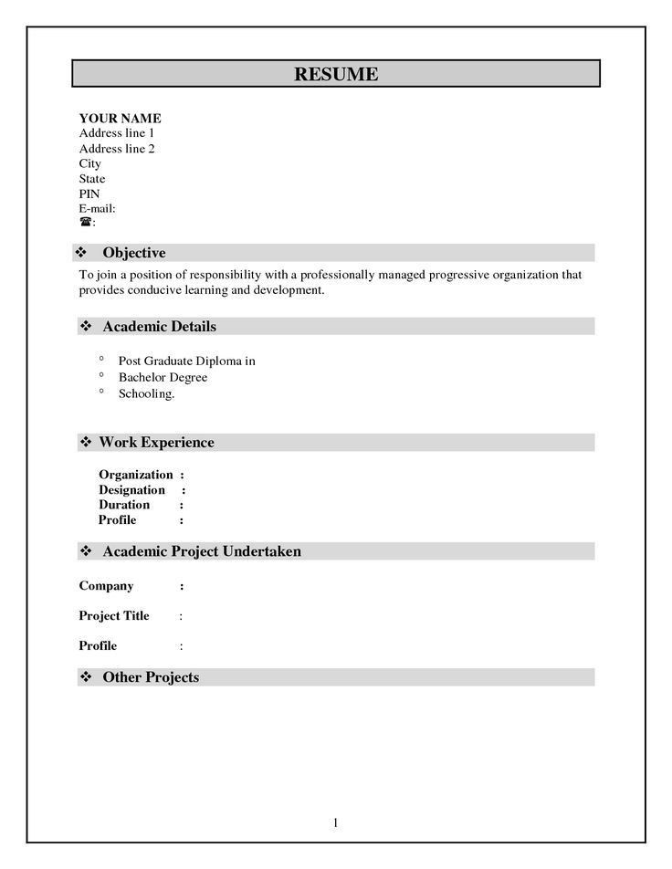 The 25+ best Free resume format ideas on Pinterest | Free cover ...