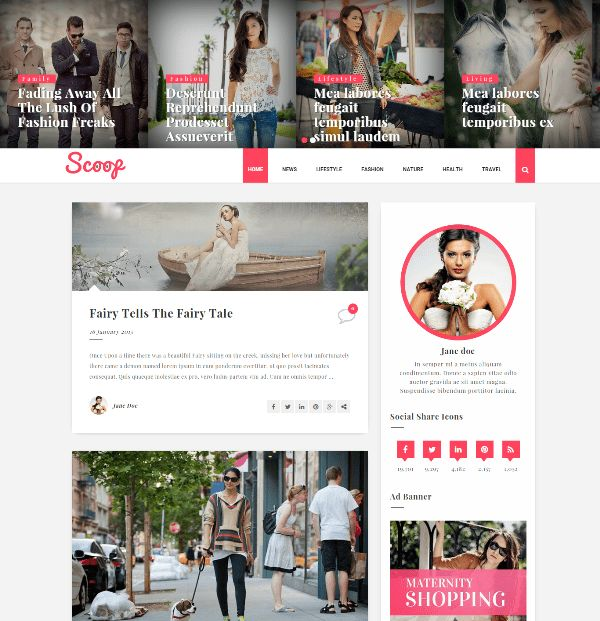 Best Free Responsive Blogger Templates For 2016 ~ Free WordPress ...