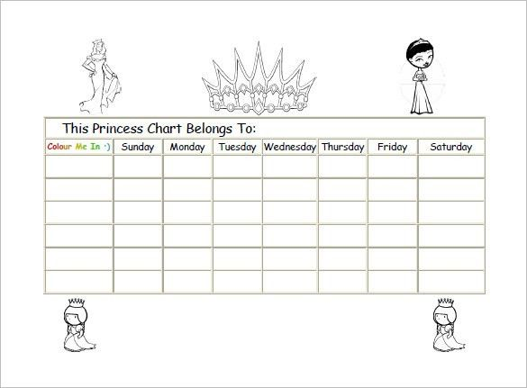 Free Reward Charts To Download - Arch-times