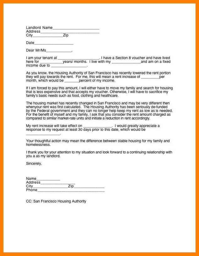 7+ 30 day notice to landlord sample letter | reference format