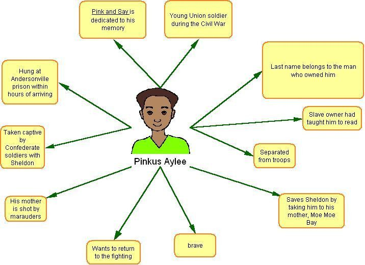 EXAMPLE OF CONCEPT MAP FOR PINK