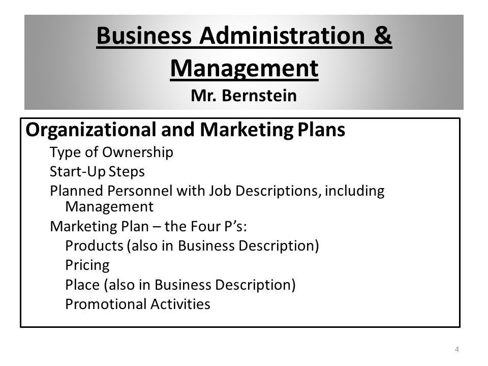 Business Administration & Management - ppt download
