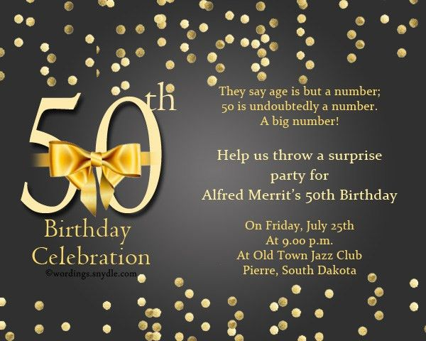 Best 50 Years Birthday Invitation Card 43 In Playing Card ...