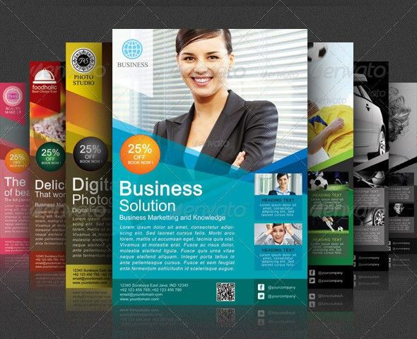 Best Corporate and Business Flyer Template | 56pixels.com