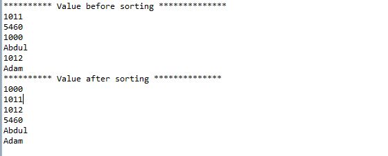 How to sort an ArrayList in java | StackTips