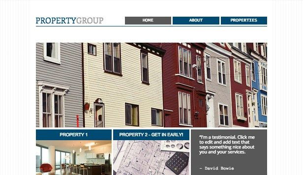 Real Estate Website Templates | Business | Wix