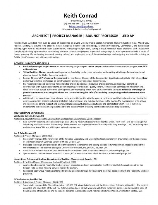Resume Samples For Higher Education Jobs - Augustais