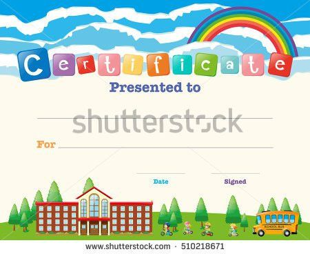 School Certificate Stock Images, Royalty-Free Images & Vectors ...