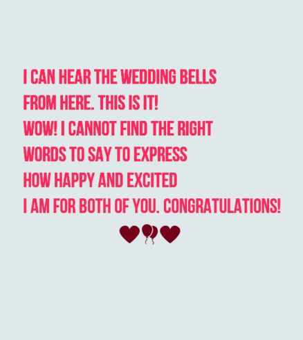 Best 40 Romantic Wedding Card Messages for just Married ...