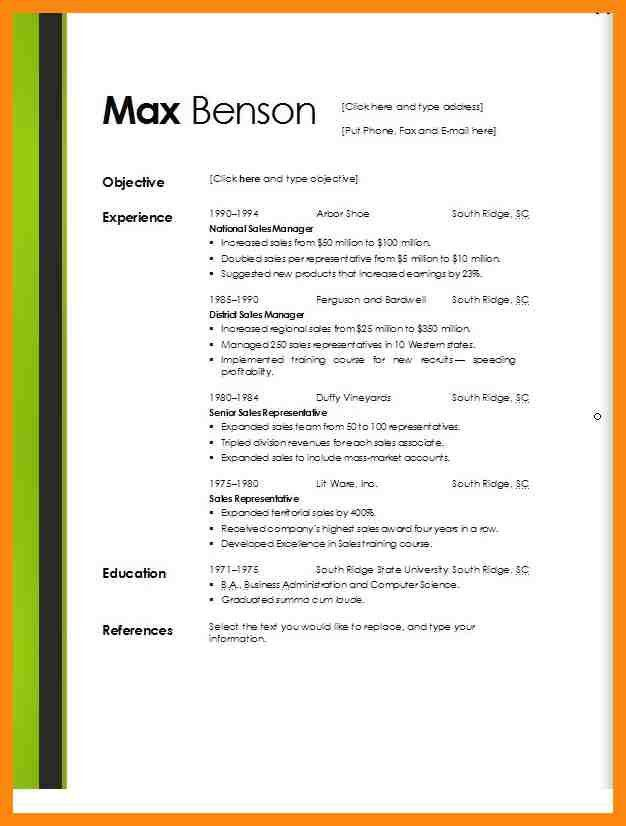 free word doc templates best resume template downloads microsoft ...