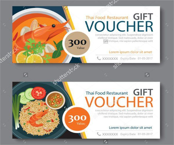 9+ Food Voucher Templates - Free PSD, Vector AI, EPS Format ...
