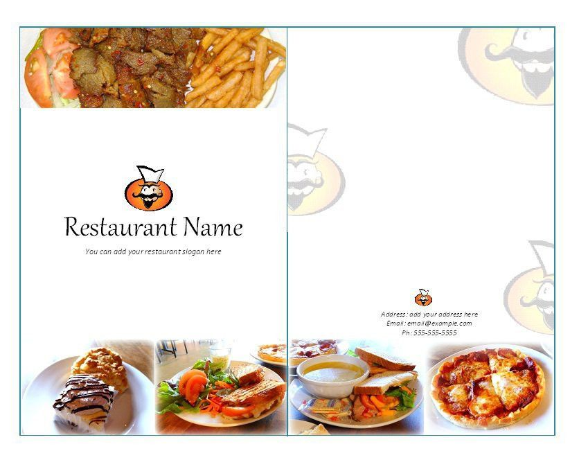 31 Free Restaurant Menu Templates & Designs – Free Template Downloads