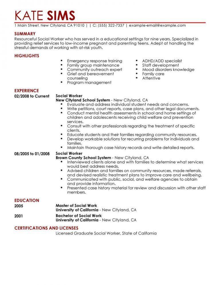 choose. social work intern resume samples. social work resume ...