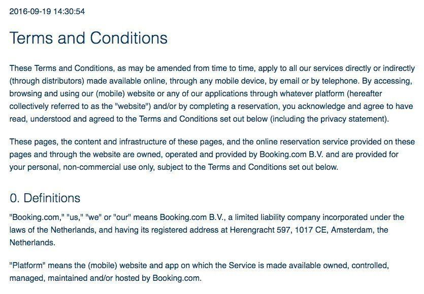 Sample Terms and Conditions Template - TermsFeed
