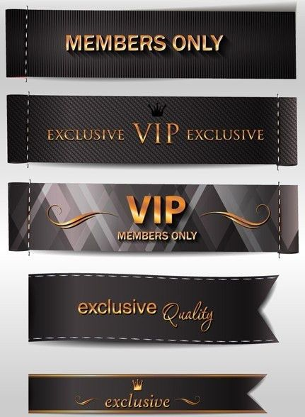 Free Dark VIP Card Design Templates Vector - TitanUI