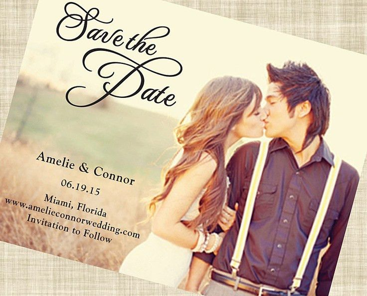 39 best Save the Date Design Ideas images on Pinterest | Save the ...