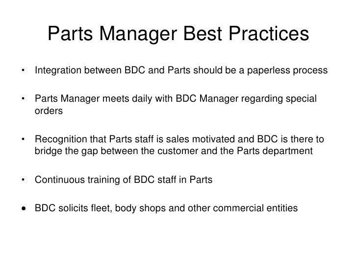 Automotive BDC Workshop; Advertising
