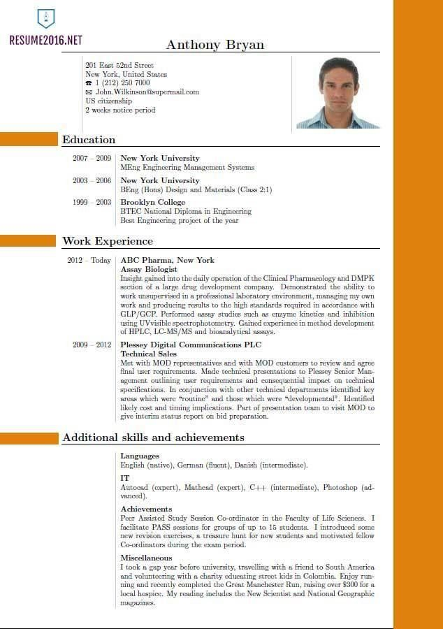 What Is The Best Resume Format 18 Sample Resume For Experienced It ...