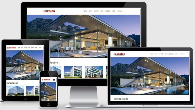 Real Estate Builders Free Responsive Website Templates