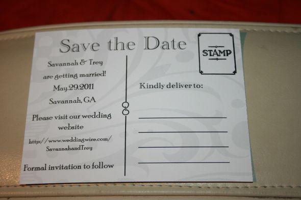 STD postcards and Vistaprint review! - Weddingbee