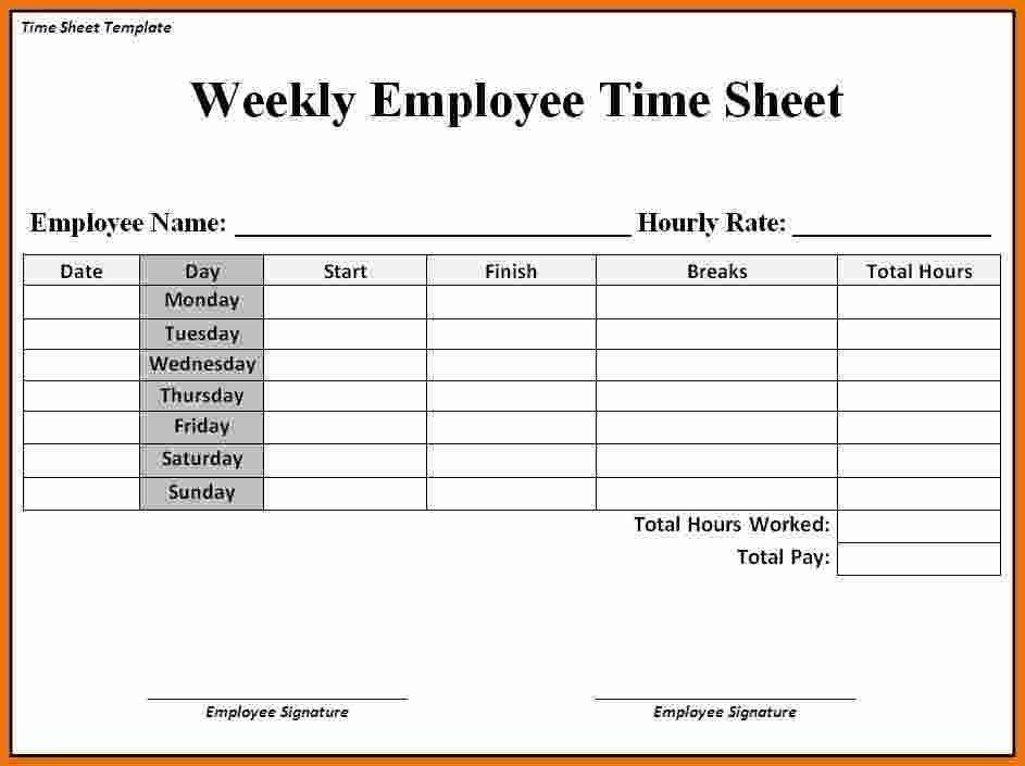 0 Time Sheets Free Inspiring fantastic 12 Free Time Sheet ...