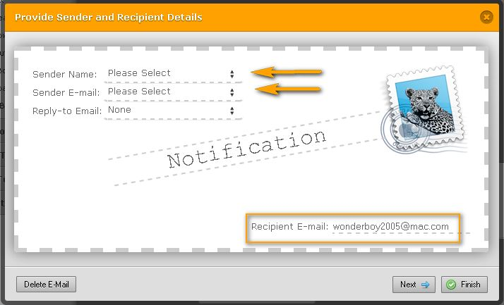 How to change notification recipient email address? | JotForm