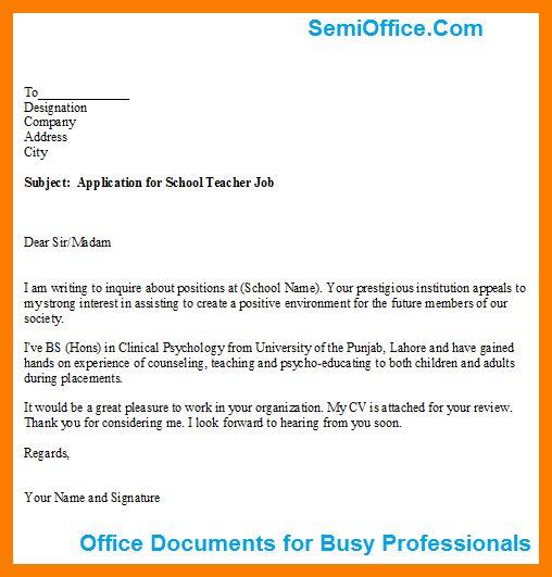 3+ application format school | park-attendant