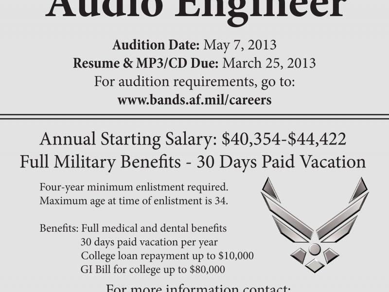 Download Audio Engineer Sample Resume | haadyaooverbayresort.com