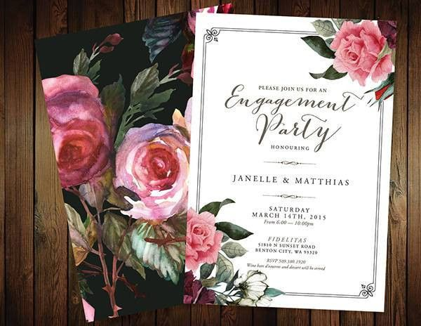 19+ Engagement Party Invitation - PSD, Vector EPS, AI Illustrator ...