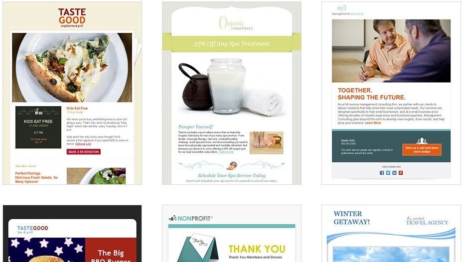 The Best Email Marketing Templates for Small Business