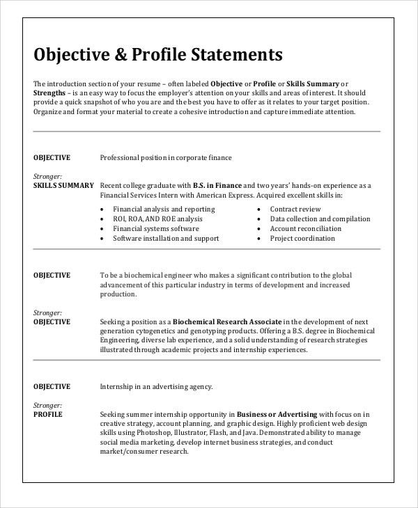 Resume Objective Examples Any Job. Resume. Ixiplay Free Resume Samples