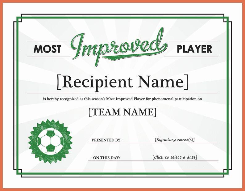 award certificate template word | bio example