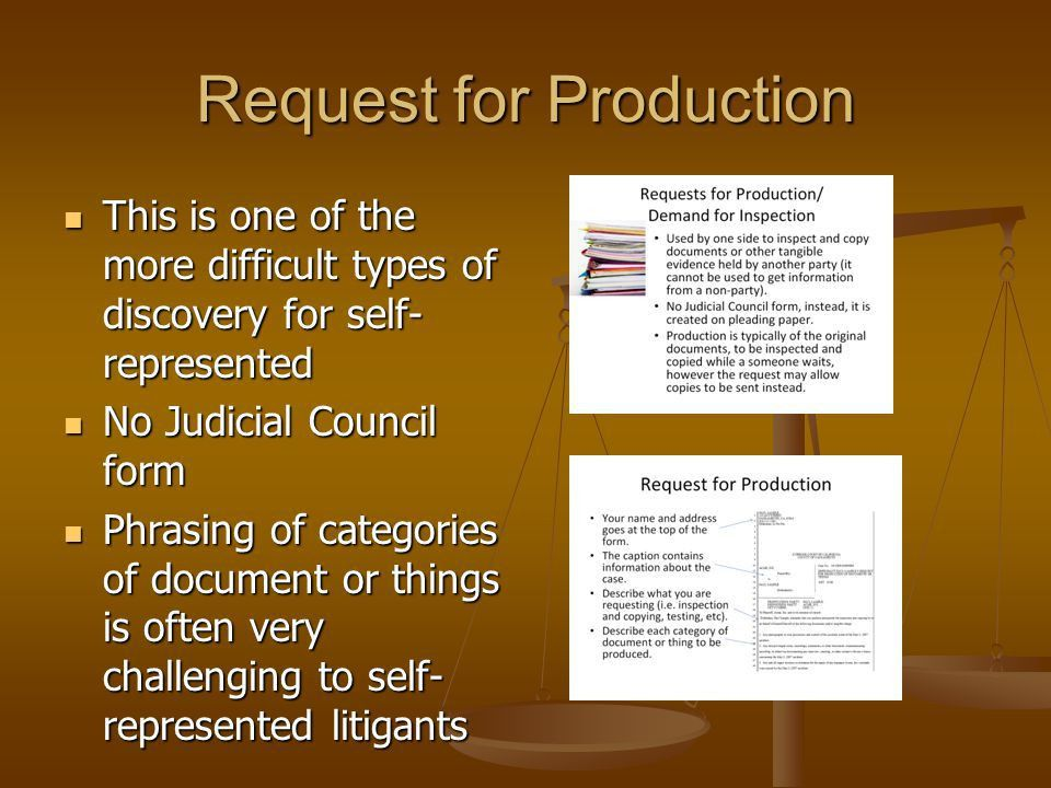 Teaching Basic Civil Discovery in a Workshop Setting - ppt download