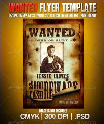 10 Wanted Poster Templates | Logan Birthday | Pinterest