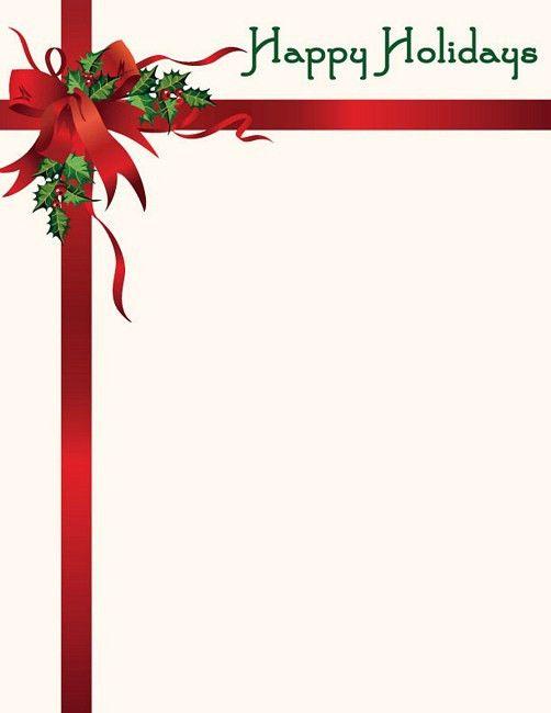 Christmas Letter Borders Clip Art (70+)