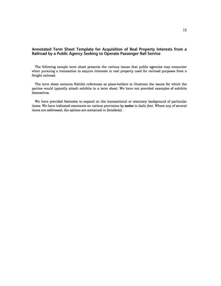 term sheet template startup | HYNVYX