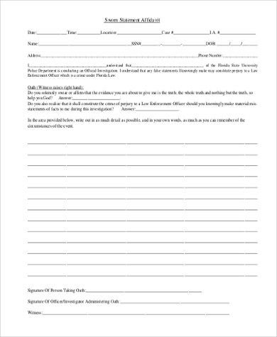 Affidavit Of Sworn Statement [Nfgaccountability.com ]