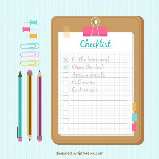 List Items Vectors, Photos and PSD files | Free Download