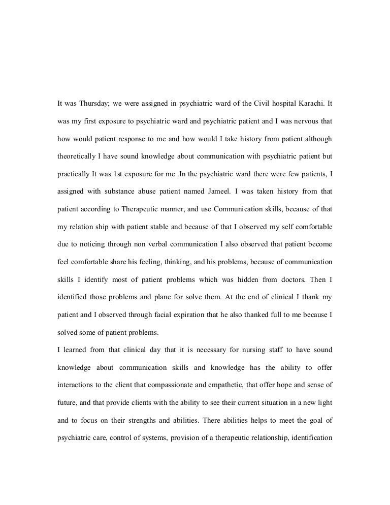 Personal Essay Thesis Statement Reflection On Clinical Experience How To Start A Business Essay also Proposal Essay Topics Examples Examples Of Self Reflection Essay Reflective Essays Examples  Research Paper Essay Topics