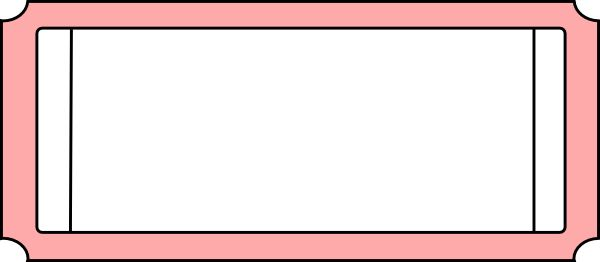 Blank Ticket Stub Clip Art (37+)