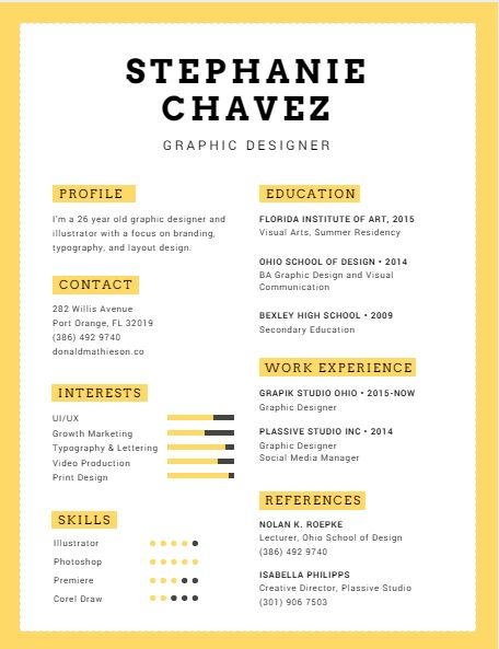 Use Canva to make your resume stand out! : Next Step After Care