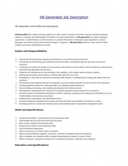 25 Cover Letter Template For Human Resources Assistant Resume ...