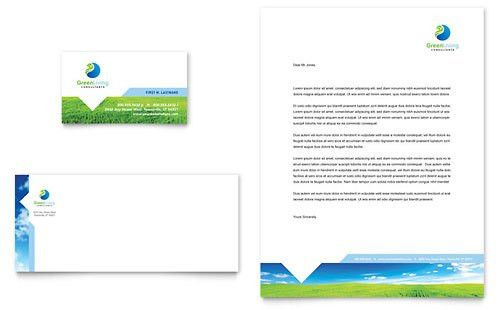 Non Profit - Business Card Templates - Word & Publisher